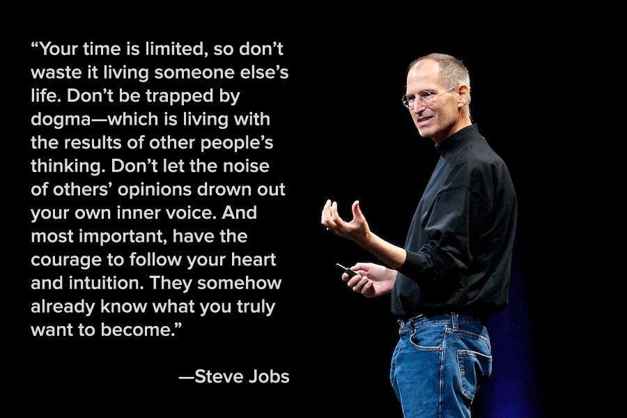 steve jobs quote ldquo if - photo #29